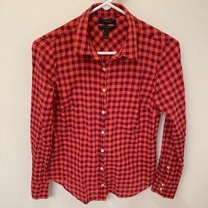 J. Crew Perfect Shirt - Size 2
